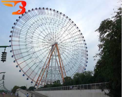 giant wheel ride