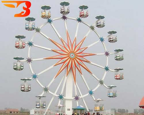 25 ft ferris wheel
