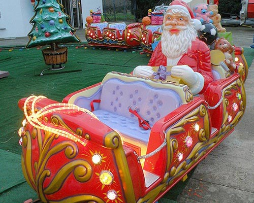 Christmas train track supplier