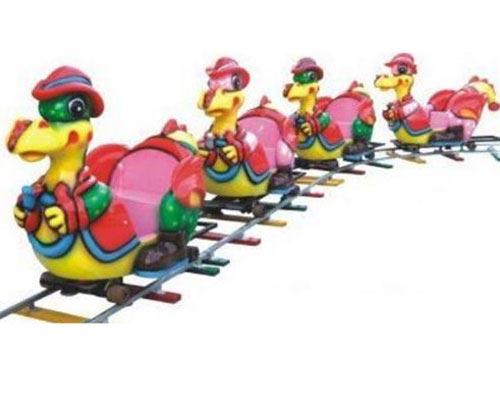 amusement park electric trains