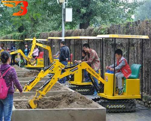 kids excavator digger