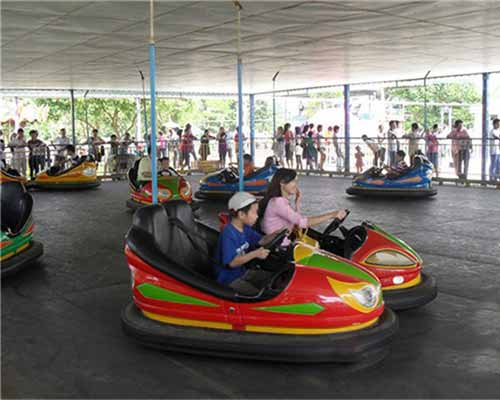 electric floor bumper cars