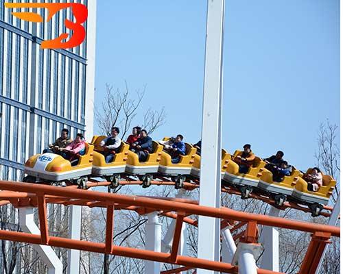 velocity of a roller coaster