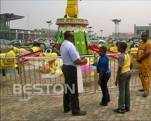 cheap self-control bee ride outdoor playground rides