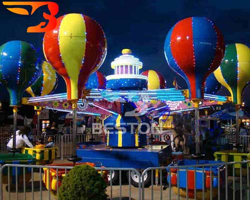 kids carnival rides portable samba balloon
