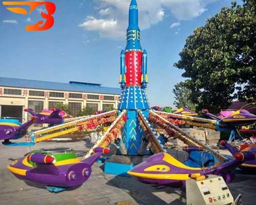 mini plane playground rides