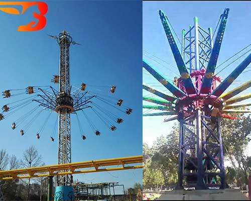 sky swing fair ride