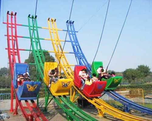 meniscus slide coaster car ride