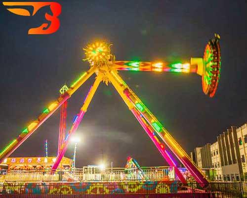 frisbee carnival ride