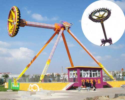 frisbee pendulum ride