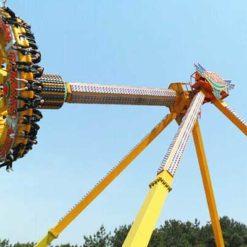 frisbee amusement park ride