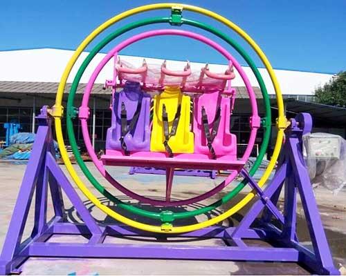gyroscope amusement ride