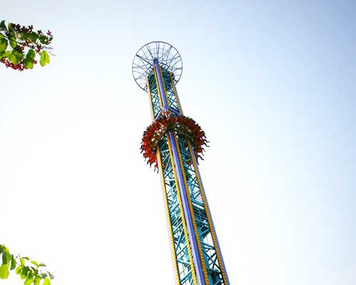 best drop tower rides