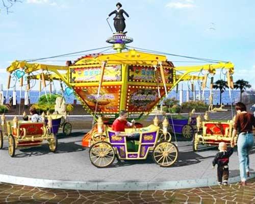modern times spinning fair rides
