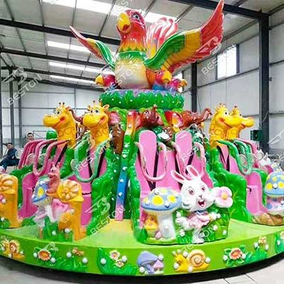 forest party kiddie rides