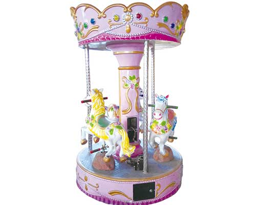 3 horse carousel for sale