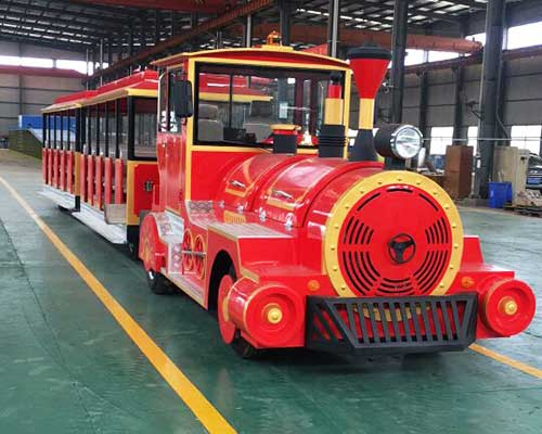 trackless train rides