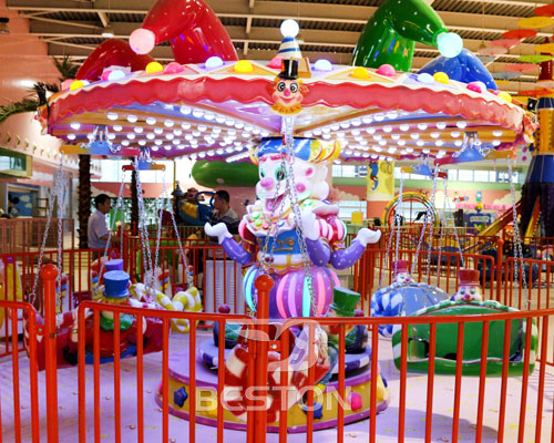 clown mini swing rides for kids