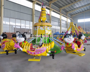 self-control bee ride outdoor playground rides suppliers