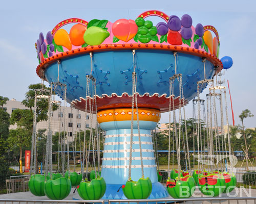 fruit chair swing carnival rides for kids