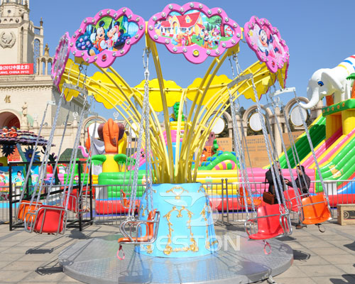 amusement park swing rides for kids