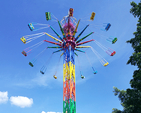 buy flying tower thrill rides from professional manufacturer