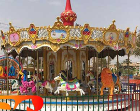 Buy Amusement Park Rides in Beston-Iraq Customer's New Park