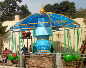 Successful Installation of Beston Kiddie Swing Rides in Nigeria