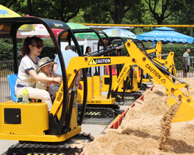 Kids Excavator Rides manufacturer and supplier