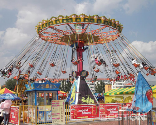giant spinning swing rides price