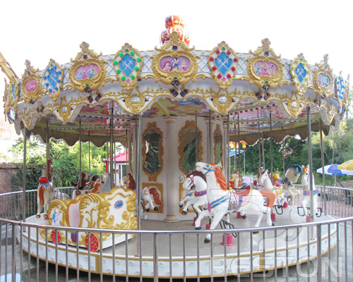 amusement park carousel for sale