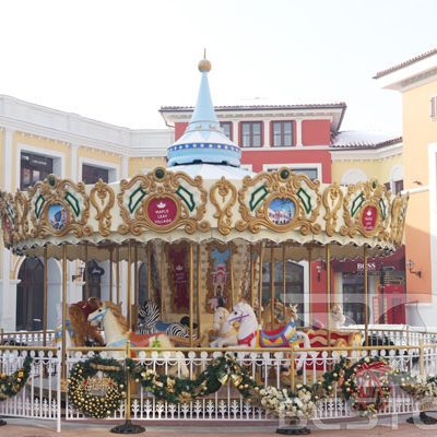 amusement park carousel ride price