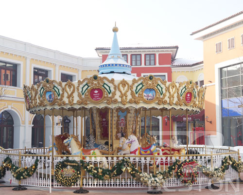amusement park carousel ride price