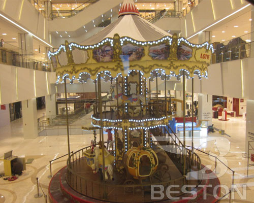 double decker carousel manufacturer