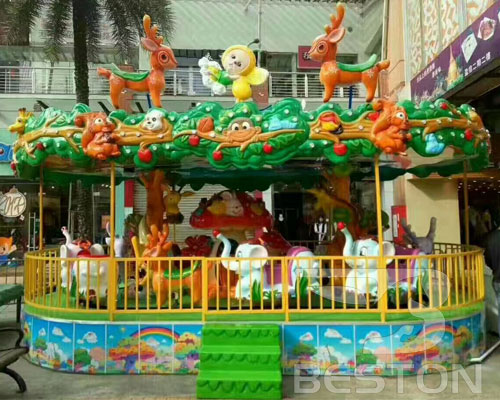 carousel merry go round ride manufacturer