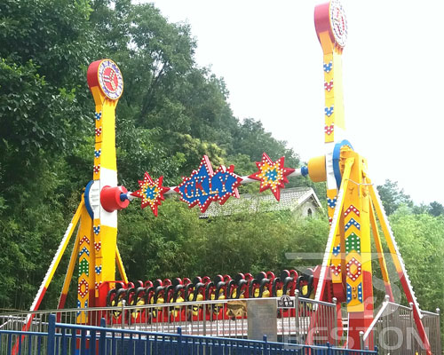 topspin amusement ride manufacturer