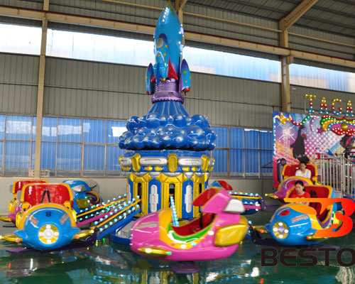 kiddie space shuttle amusement rides for sale
