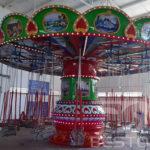 Installation of Beston Chair Swing Rides in Kenya