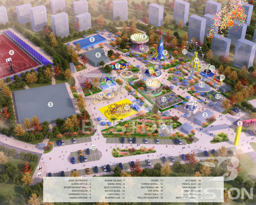 free amusement park design