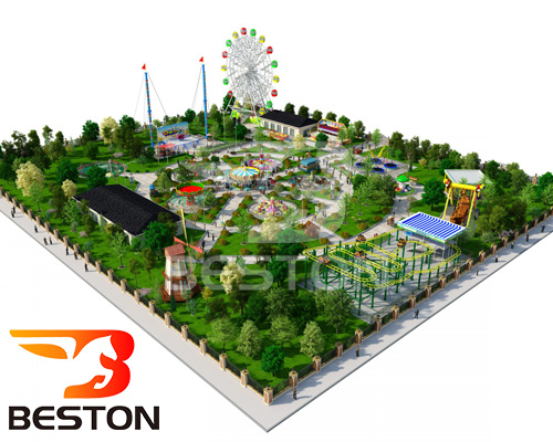 where to set up and design parks - Beston